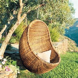 Fauteuil De Jardin Suspendu : fauteuil de jardin suspendu rotin jungle maisons du monde outdoor pinterest armchairs ~ Teatrodelosmanantiales.com Idées de Décoration
