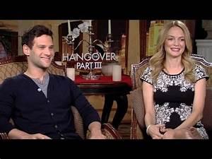The Hangover Part 3 - Justin Bartha & Heather Graham ...