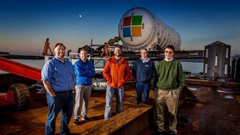 microsoft puts a data center on the sea floor news