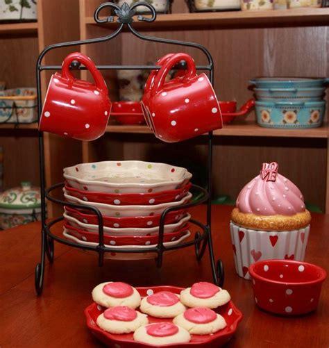 Temptations® Polka Dot Red And Cream  Temptations