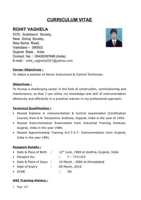 resume format for diploma holders it resume cover letter