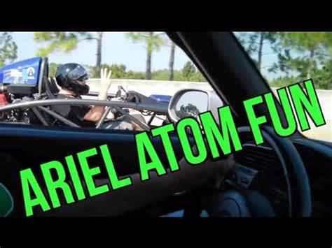 ariel atom   times quarter mile times ariel atom