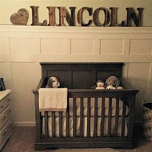 17 best images about woodland nursery ideas on pinterest With rustic letters for nursery