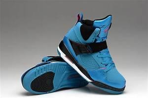 Air Jordan 45 Flight Blue Black For Women - $80.00