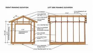 Free 8×12 Gable Roof Shed Plan — DIY Woodworking Plans