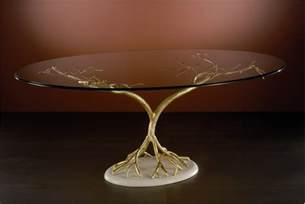 Glass Top Dining Tables with Stone Base