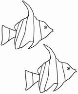Fish Coloring Angel Pages Clipartbest Clipart sketch template