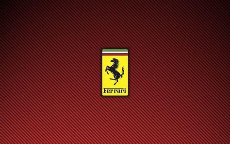 Download ferrari logo full hd wallpaper for desktop and. Ferrari Logo Wallpapers - Wallpaper Cave