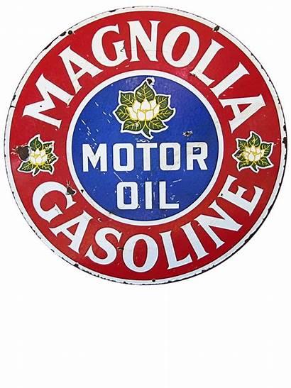 Signs Magnolia Gasoline Oil Gas Motor Antique