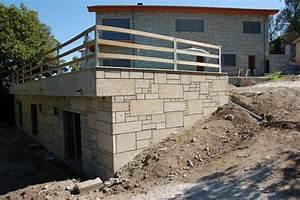Construction En Pierre : maison en parement pierres ibs distribution ~ Premium-room.com Idées de Décoration