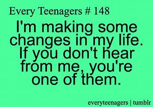 TEEN QUOTES TEENAGE LIFE TUMBLR image quotes at ...