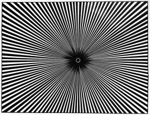 optical illusions op art coloring pages  adults