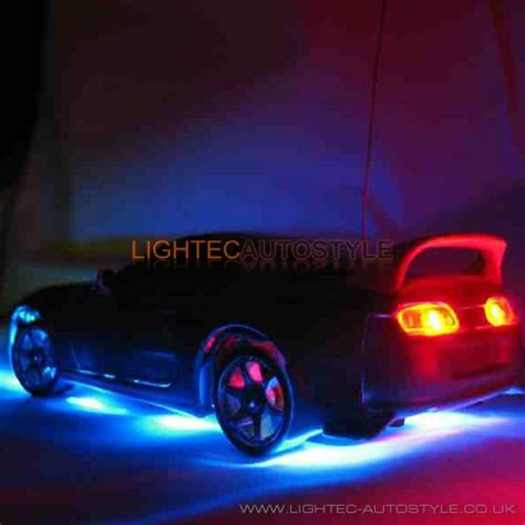 blue lights for cars car wireless multi colour lighting led kit