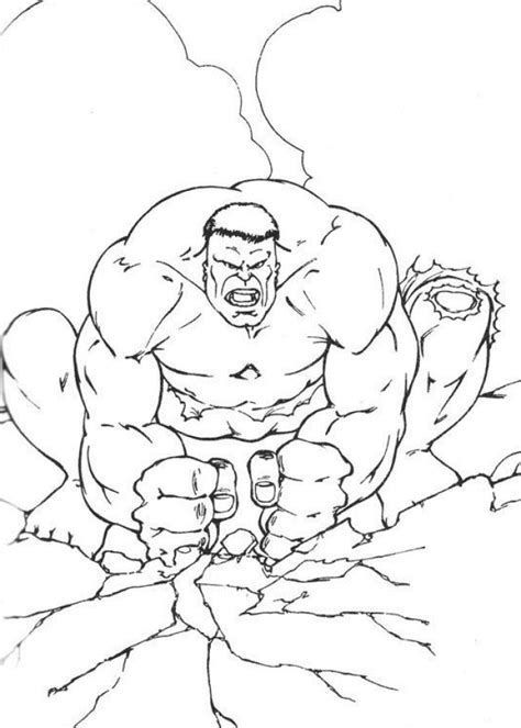 hulk coloring pages images  pinterest hulk