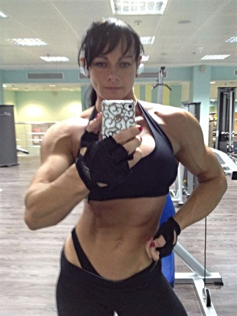 maria kuzmina bulatova  beauty muscle