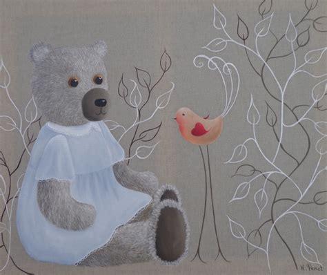 sticker ourson chambre bébé peinture ourson maman et bébé peinture ourson pictures