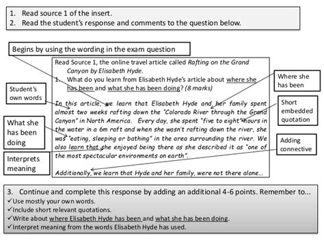 aqa english revision guidance higher