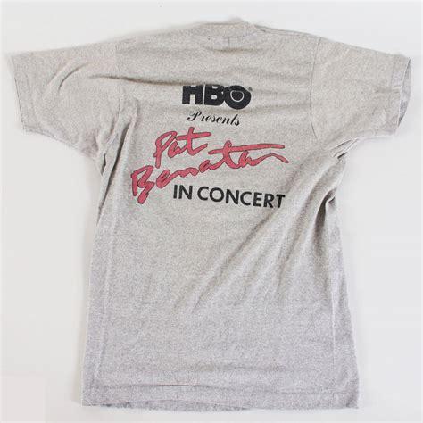 1983 Pat Benatar Concert Tee Shirt Lot (2) Tour Vintage ...