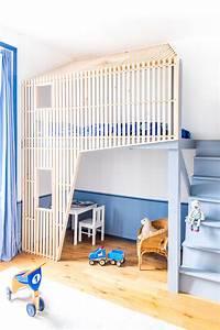 Cabane Chambre Enfant : cabane enfant bois chambre design ma ma architectes ~ Teatrodelosmanantiales.com Idées de Décoration