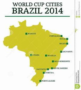 World Cup Cities Brazil 2014 Editorial Image - Image: 40463045