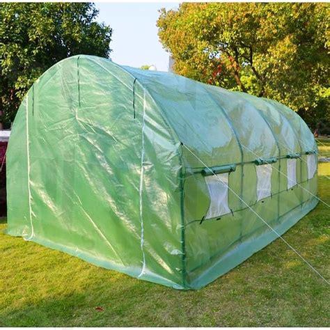 jual greenhouse rumah kaca hidroponik tanaman hias buah