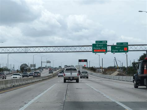 florida exit interstate kaley ave west westbound 81c 81b taken east