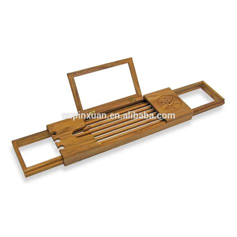 bamboo bathtub caddy bed bath beyond bamboo bathtub tray caddy with extending sides and