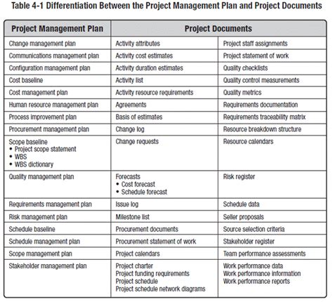 4.2. Develop Project Management Plan