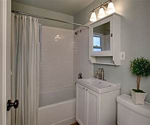 Cape Cod bathroom after - Hooked on Houses