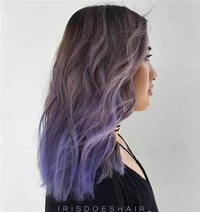 Purple Ombre Hair Ideas: Plum, Lilac, Lavender and Violet ...