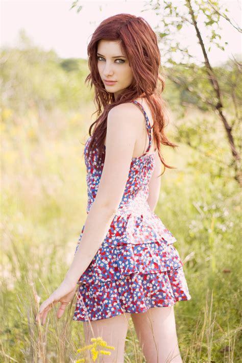 Beautiful Model And Dressed Dress