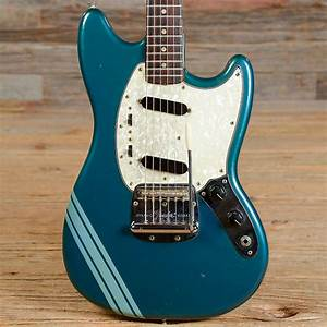Vintage Fender Competition Finish Mustang Electric Guitar