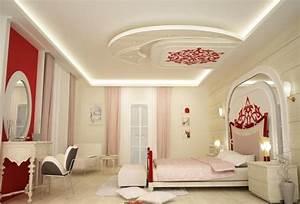 Decoration Faux Plafond : plafond platre tendu decoration plafond ~ Melissatoandfro.com Idées de Décoration