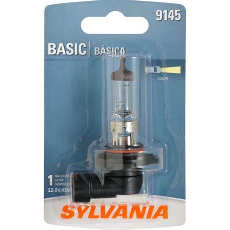 9145 fog light bulb sylvania 9145 basic fog bulb sylvania automotive