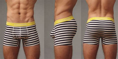 The Updated Cocksox Ahoy Striped Boxer Gold