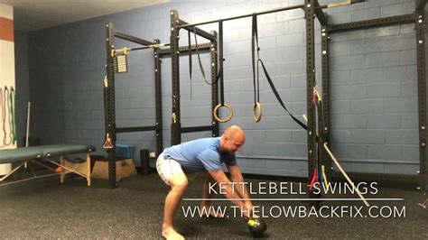 kettlebell swings pain