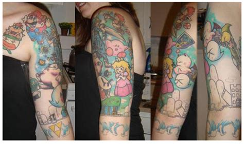 Video Game Character Tattoos ~ Damn Cool Pictures