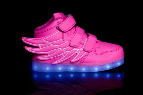 led light shoes for kid led light up shoes wings pink buy now