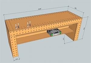Schraubzwinge Selber Bauen : entwurf f r eine werkbank holzwerkerblog von heiko rech ~ Whattoseeinmadrid.com Haus und Dekorationen