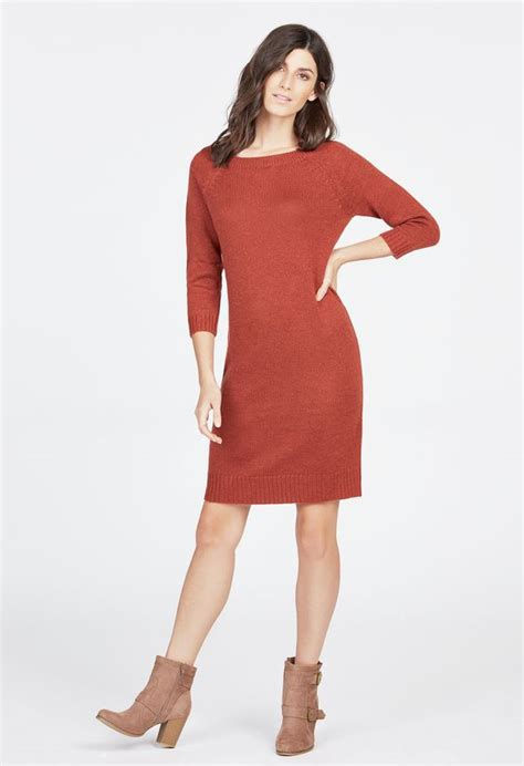 Boat Neck Sweater Uk by Boat Neck Sweater Dress Clothing In Cinnamon Get Great