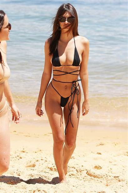 Ratajkowski Emily Bikini Sydney Camp Cove String