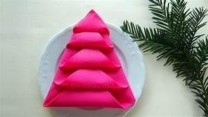 Servietten Tannenbaum Falten : servietten falten tannenbaum weihnachtsdeko selber ~ Watch28wear.com Haus und Dekorationen