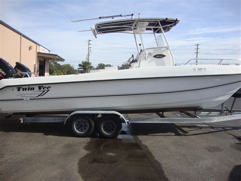 Twin Vee Boats by 2014 Used Twin Vee Bay Cat Power Catamaran Boat For Sale