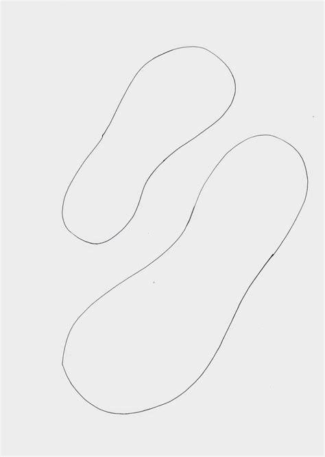 stempeleinmaleins flipflop vorlage flip flop template