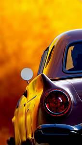 Classic Retro Car Tail Lights iPhone 5 Wallpaper HD - Free