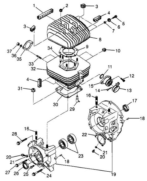 Polari Trailblazer 250 Part Diagram by On A 1997 250cc Polaris Trailblazer Where Does The Hose