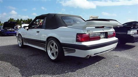 1988 Fox Body Mustang Saleen, 1988, Free Engine Image For