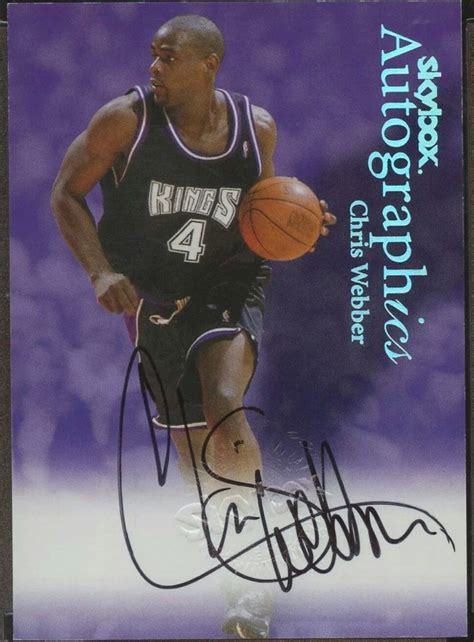 Maybe you would like to learn more about one of these? Pin by Durr Gruver on Basketball Cards   Chris webber, Basketball cards, Sports