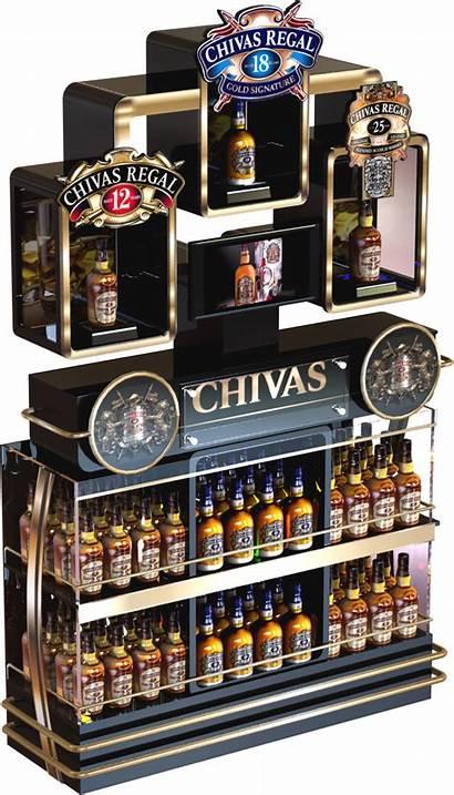 Chivas Ricard Ponta Pernod Behance Retail Unit