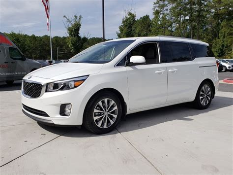 Kia Sedona All Wheel Drive by New 2018 Kia Sedona Sx Fwd Minivan In Woodstock W01330